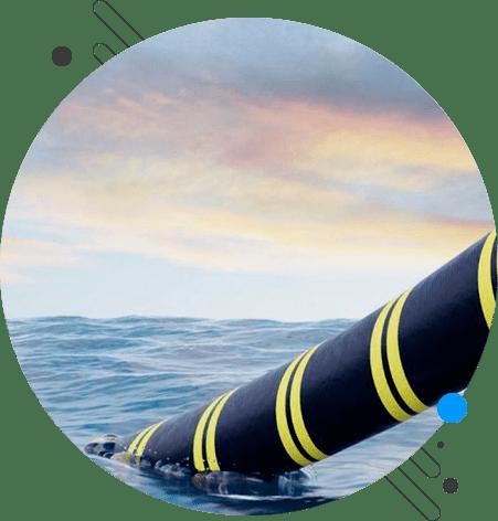 transatlantic dark fiber network